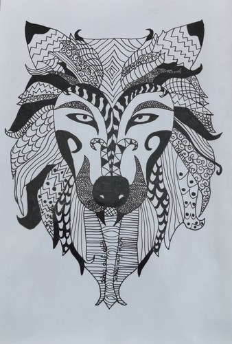 mini Zentangle Julian Amon PTS1